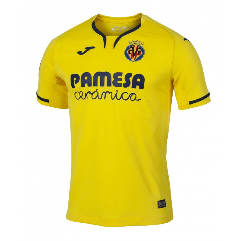 Villarreal Home 2019/2020 Shirt. Club Football Shirts.