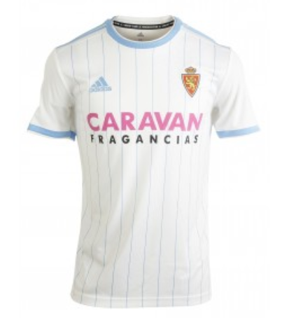 Zaragoza Home 2018/2019 Shirt. Club Football Shirts.