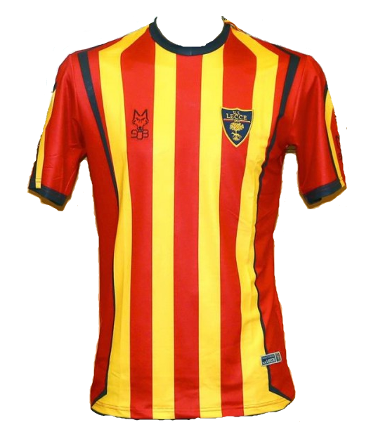 Lecce Home 2018/2019 Shirt. Club Football Shirts.