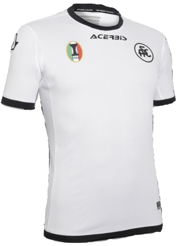 Spezia Home 2018/2019 Shirt. Club Football Shirts.