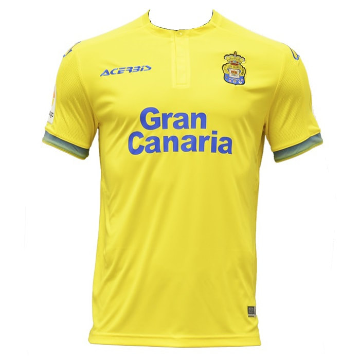 Las Palmas Home 2018/2019 Shirt. Club Football Shirts.