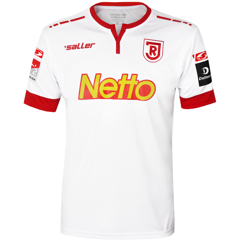 Jahn Regensburg Home 2018/2019 Shirt. Club Football Shirts.
