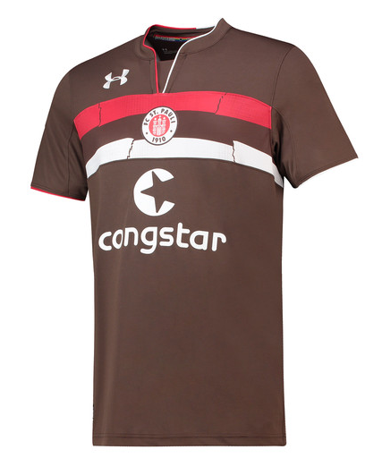 FC St. Pauli Home 2018/2019 Shirt. Club Football Shirts.