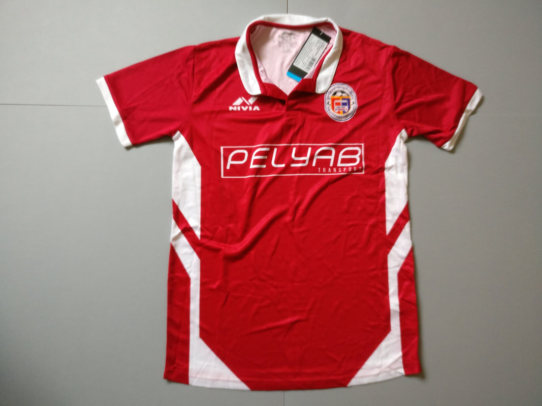 Transport United F.C. Home 2018 Football Shirt Manufactured By Nivia. The Team Plays Football In Bhutan.