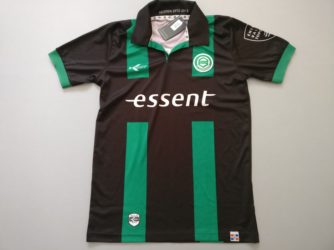 FC Groningen Away 2012/2013 Football Shirt Manufactured By Klupp. The Club Plays Football In The Netherlands.