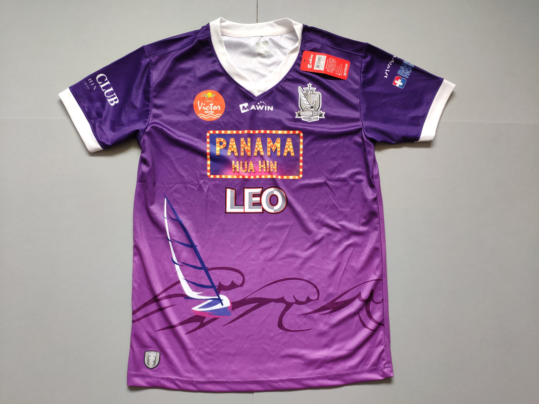 Hua Hin City Football Club Home 2017 Shirt. BNWT. Medium. Club Football Shirts.