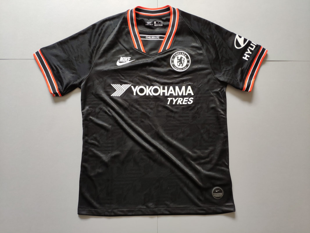 Chelsea F.C. Third 2019/2020 Football Shirt Manufactured By Nike. The shirt is sponsored by Yokohama Tyres.