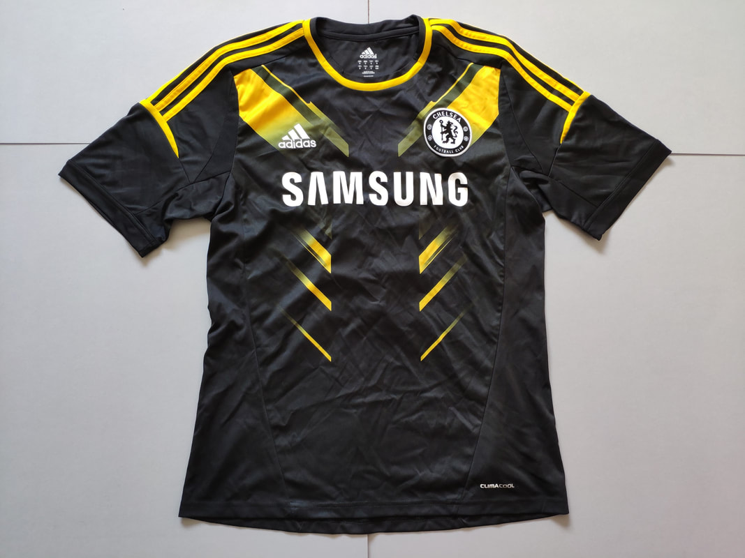 Chelsea F.C. Third 2012/2013 Football Shirt Manufactured By Adidas. The Shirt Is Sponsored By Samsung.