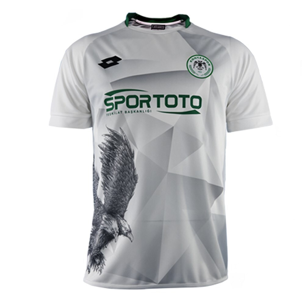 Konyaspor Third 2020/2021 Football Shirt Manufactured By Lotto. The Club Plays Football In Turkey.