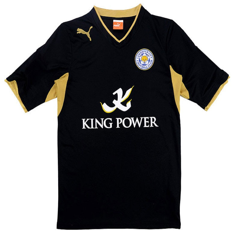 Leicester City Away 2012/2013 Football Shirt Manufactured By Puma. The Club Plays Football In England.