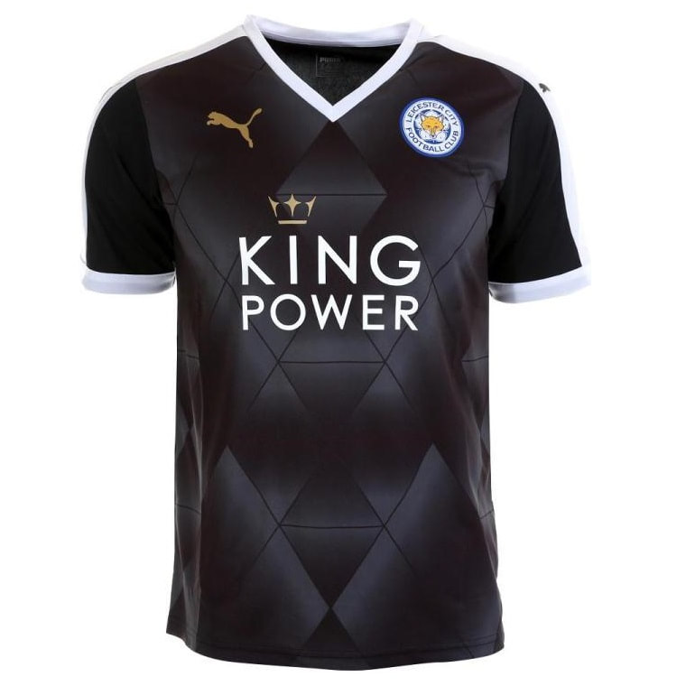 Leicester City Away 2015/2016 Football Shirt Manufactured By Puma. The Club Plays Football In England.