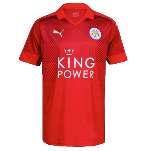 Leicester City Away 2016/2017 Football Shirt Manufactured By Puma. The Club Plays Football In England.