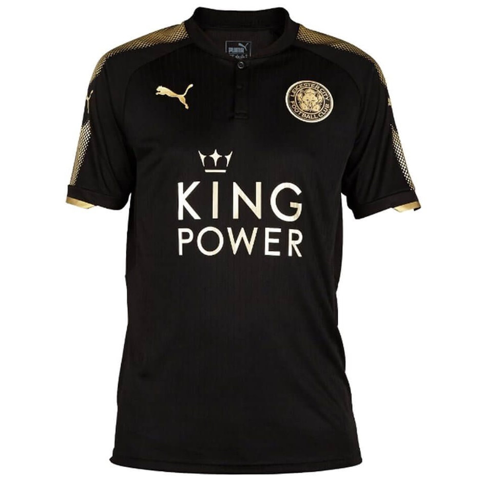 Leicester City Away 2017/2018 Football Shirt Manufactured By Puma. The Club Plays Football In England.