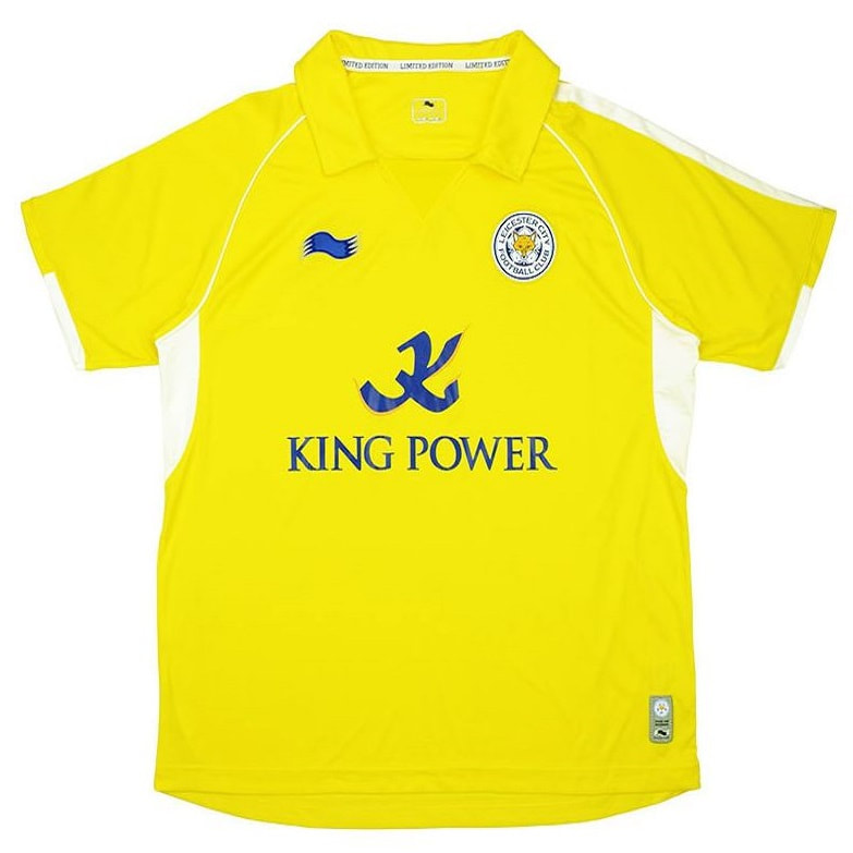Leicester City Third 2011/2012 Football Shirt Manufactured By Burrda. The Club Plays Football In England.