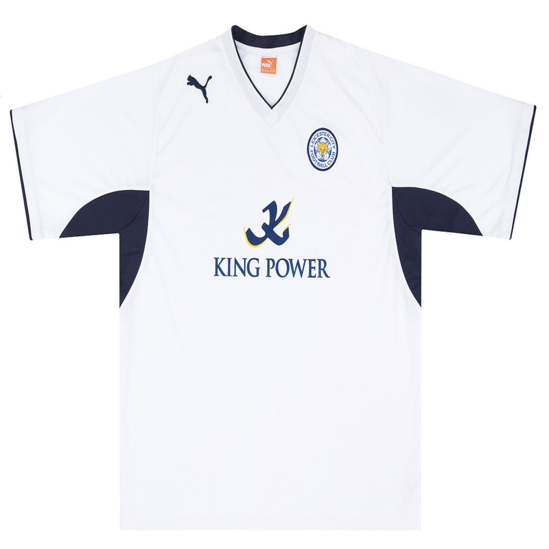 Leicester City Third 2012/2013 Football Shirt Manufactured By Puma. The Club Plays Football In England.