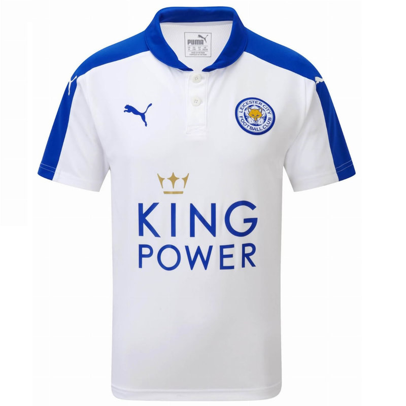 Leicester City Third 2015/2016 Football Shirt Manufactured By Puma. The Club Plays Football In England.