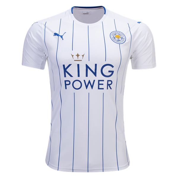 Leicester City Third 2016/2017 Football Shirt Manufactured By Puma. The Club Plays Football In England.