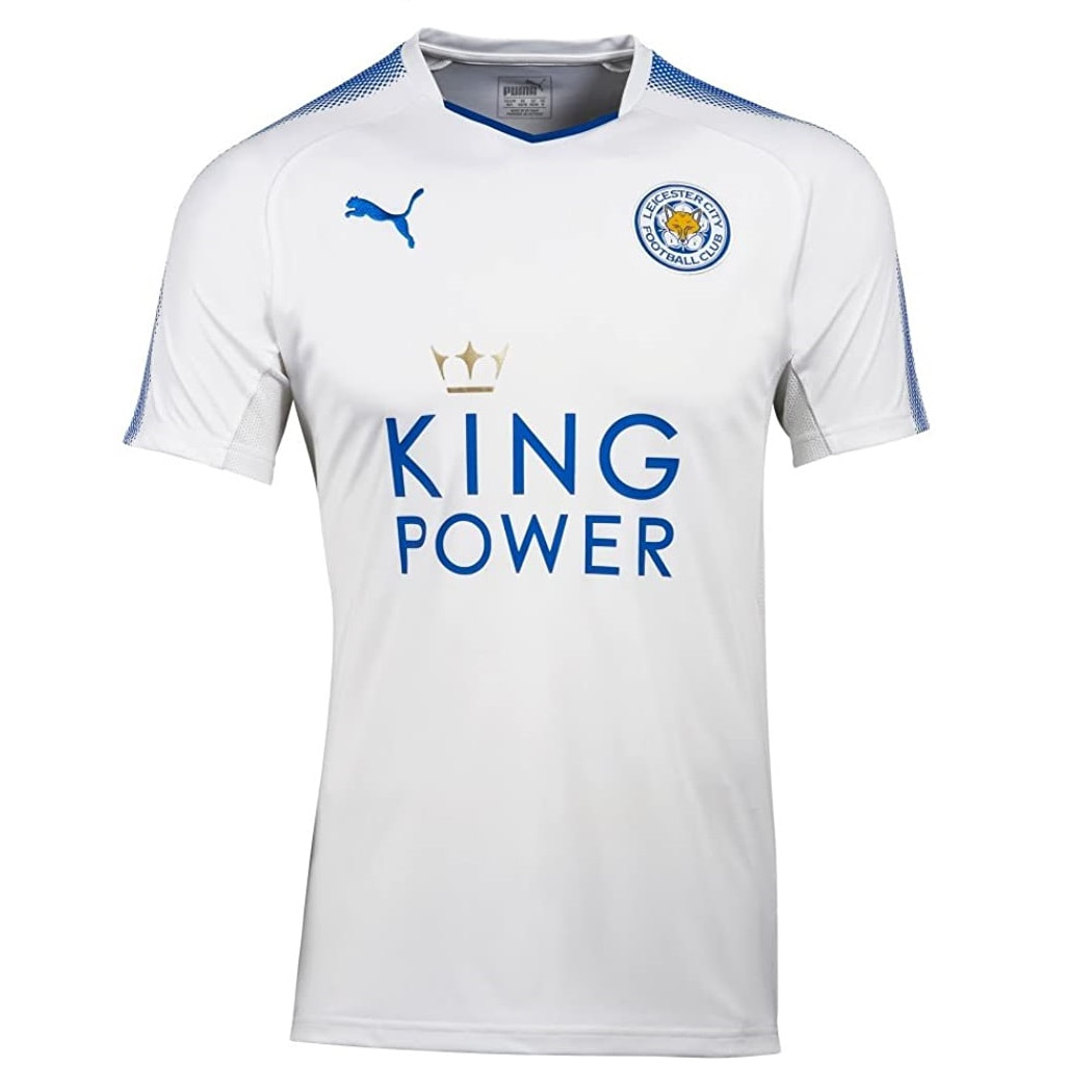 Leicester City Third 2017/2018 Football Shirt Manufactured By Puma. The Club Plays Football In England.