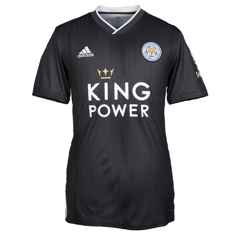 Leicester City Third 2019/2020 Football Shirt Manufactured By Adidas. The Club Plays Football In England.