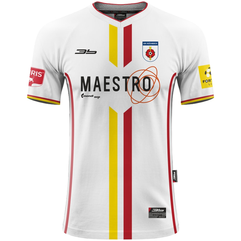 MFK Ružomberok Away 2018/2019 Football Shirt Manufactured By 3b. The Club Plays Football In Slovakia.