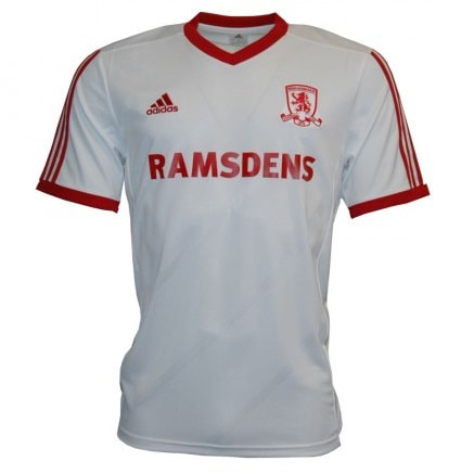 Middlesbrough Third 2014/2015 Football Shirt Manufactured By Adidas. The Club Plays Football In England.