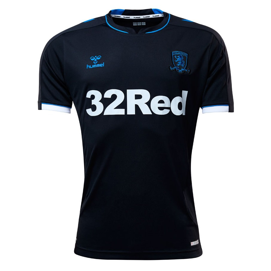 Middlesbrough Third 2019/2020 Football Shirt Manufactured By Hummel. The Club Plays Football In England.