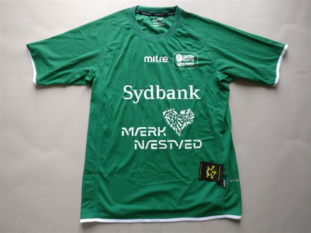 Næstved BK Home 2014/2015 Shirt. BNWT. Medium. Club Football Shirts.
