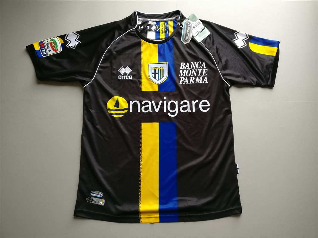 Parma Calcio 1913 S.r.l. Away 2011/2012 Shirt. BNWT. Medium. Club Football Shirts.