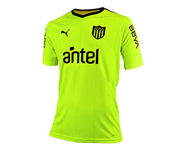 Peñarol Away 2019/2020 Football Shirt. The shirt is manufactured by Puma and the club plays in Uruguay.