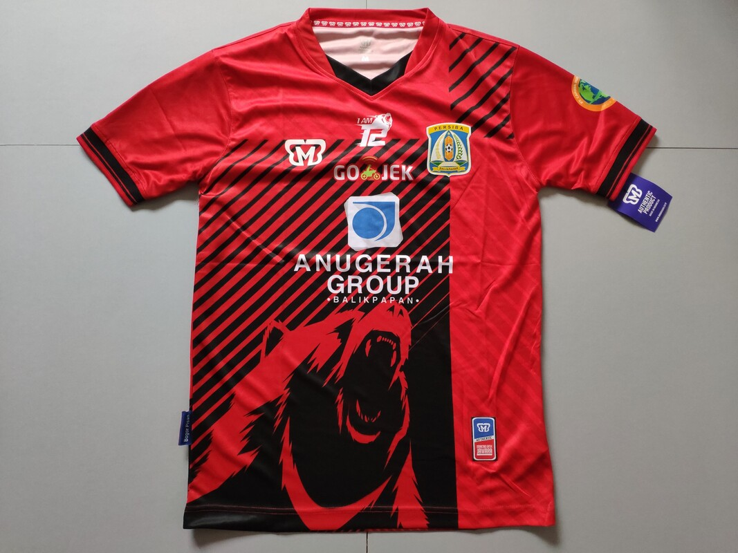 Persiba Balikpapan Away 2017 Football Shirt Manufactured By MBB. The Club Plays Football In Indonesia.