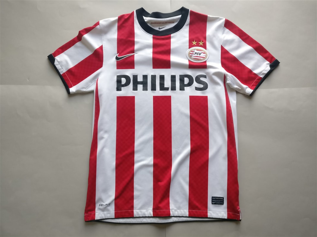 Philips Sport Vereniging Home 2010/2011 Shirt. Club Football Shirts.
