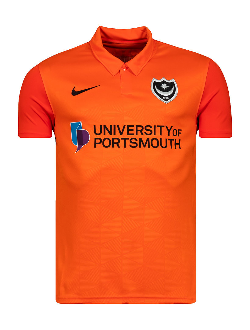 Portsmouth Third 2020/2021 Football Shirt Manufactured By Nike. The Club Plays Football In League One.