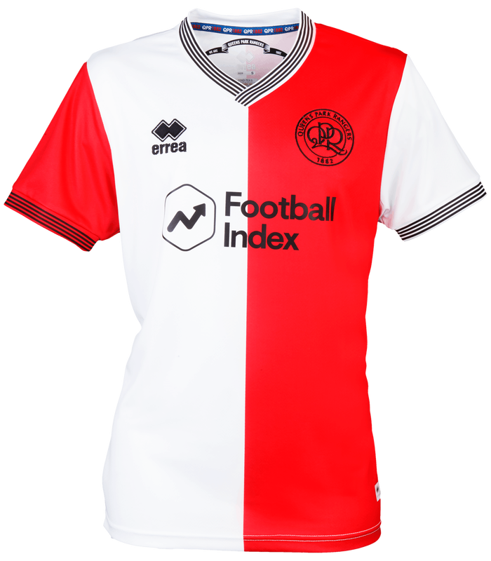 Queens Park Rangers Third 2020/2021 Football Shirt Manufactured By Errea. The Club Plays Football In The Championship.