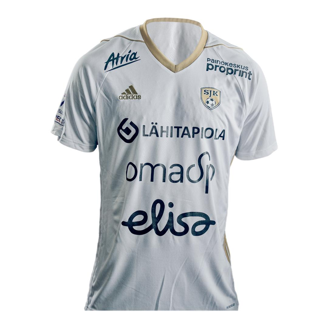SJK Away 2020 Football Shirt Manufactured By Adidas. The Club Plays Football In Finland.
