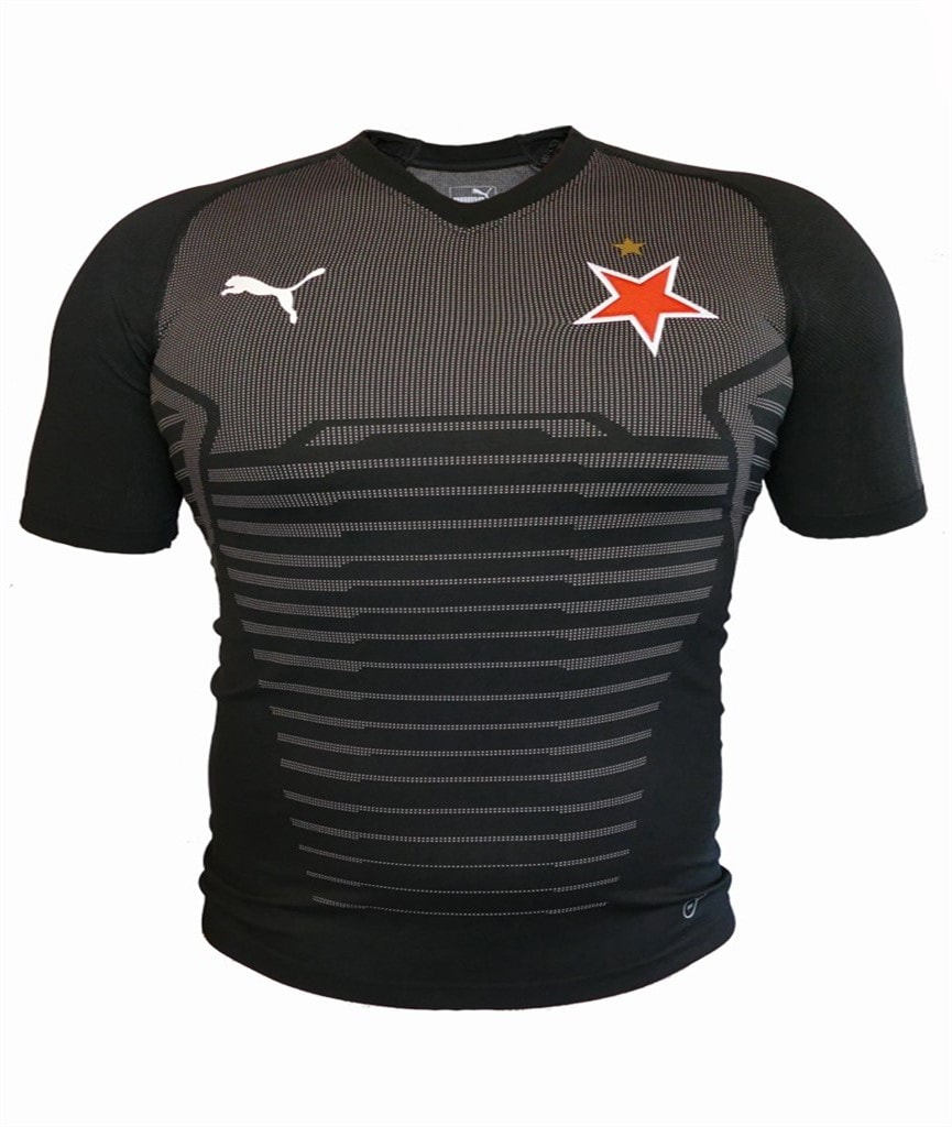 SK Slavia Prague Away 2019/2020 Football Shirt Manufactured By Puma. The Club Plays Football In Czechia.