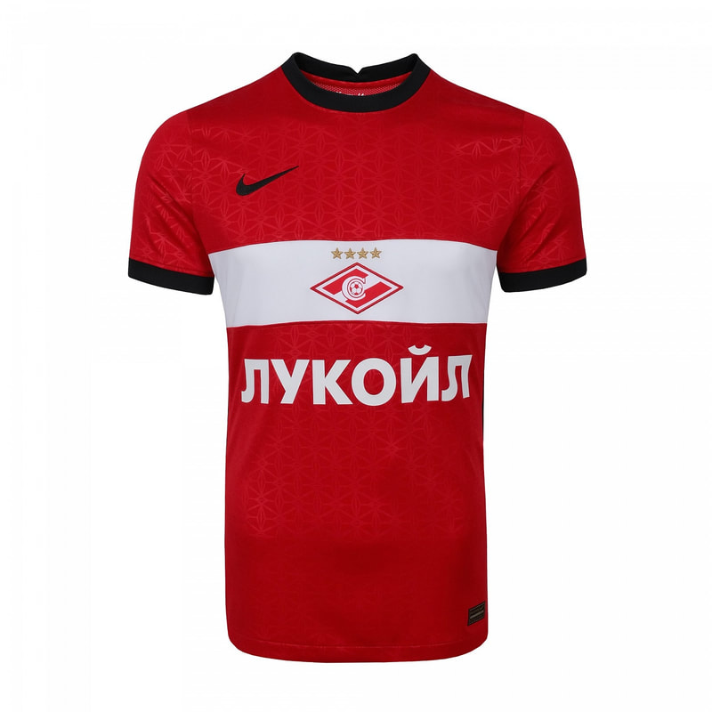 Spartak Home 2020/2021 Football Shirt Manufactured By Nike. The Club Plays Football In Russia.