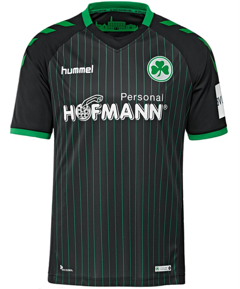 SpVgg Greuther Fürth Third 2018/2019 Shirt. Club Football Shirts.