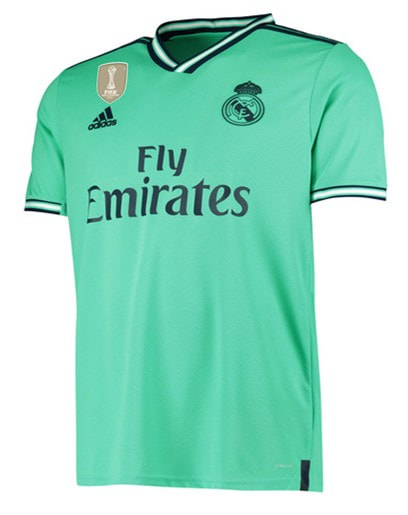 Real Madrid Third 2019/2020 Shirt. Club Football Shirts.