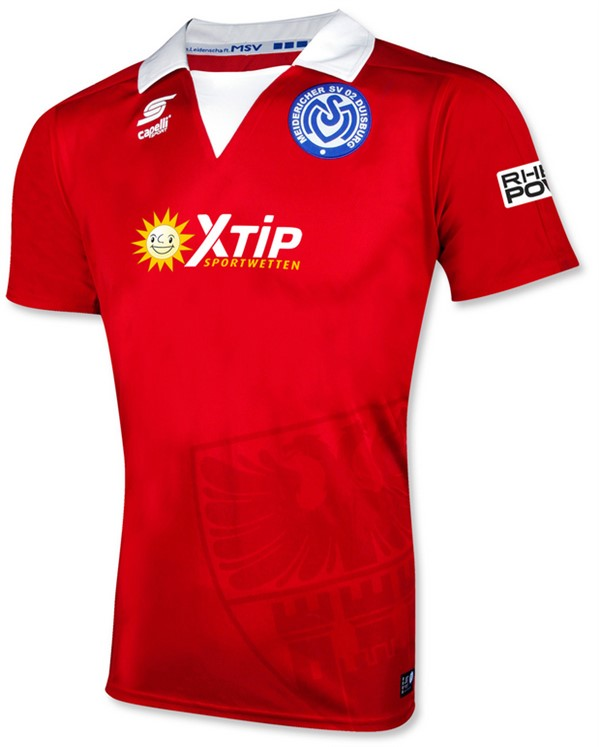 MSV Duisburg Third 2018/2019 Shirt. Club Football Shirts.