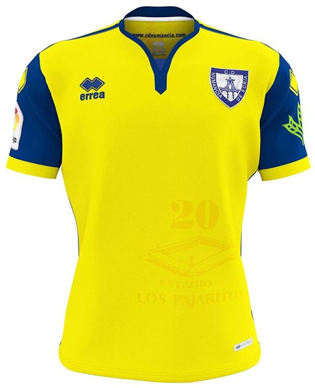 Numancia Third 2018/2019 Shirt. Club Football Shirts.