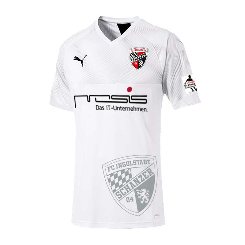 FC Ingolstadt​ Third 2019/2020 Shirt. Medium. BNWT. Club Football Shirts.