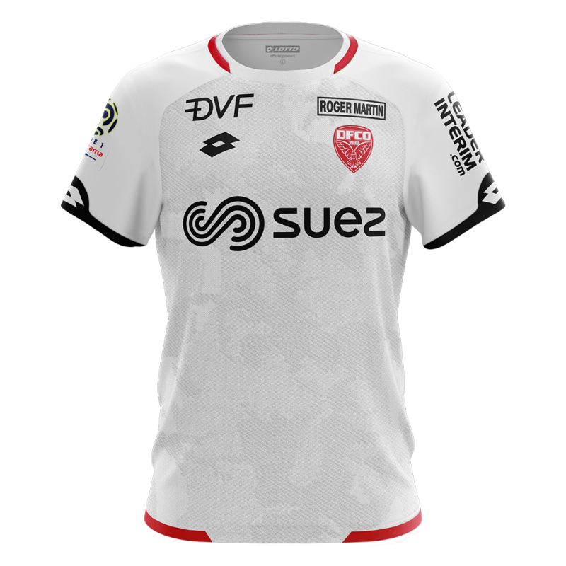 Dijon Third 2018/2019 Shirt. Club Football Shirts.