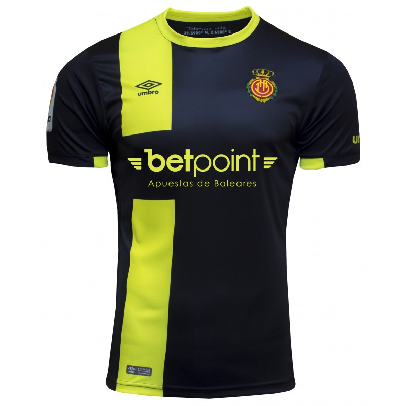 Mallorca Third 2018/2019 Shirt. Club Football Shirts.