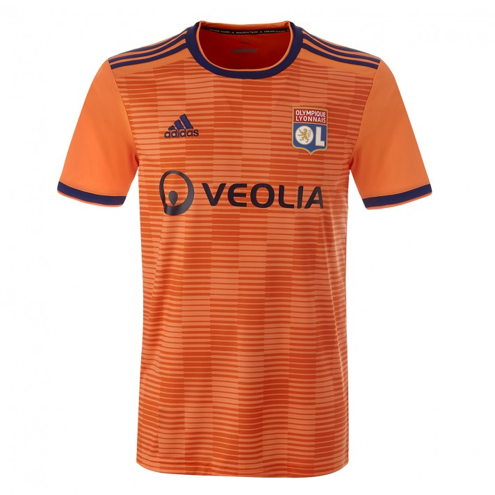 Lyon Third 2018/2019 Shirt. Club Football Shirts.