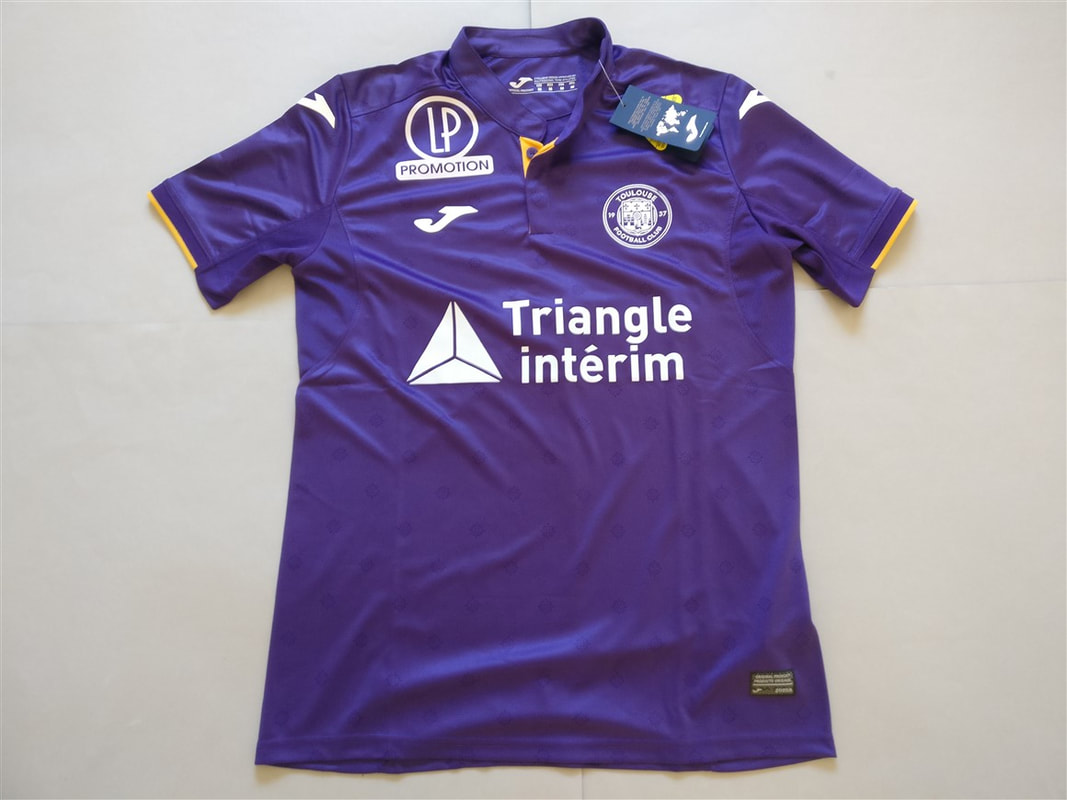 Toulouse Football Club Home 2018/2019 Shirt. BNWT. Medium. Club Football Shirts.
