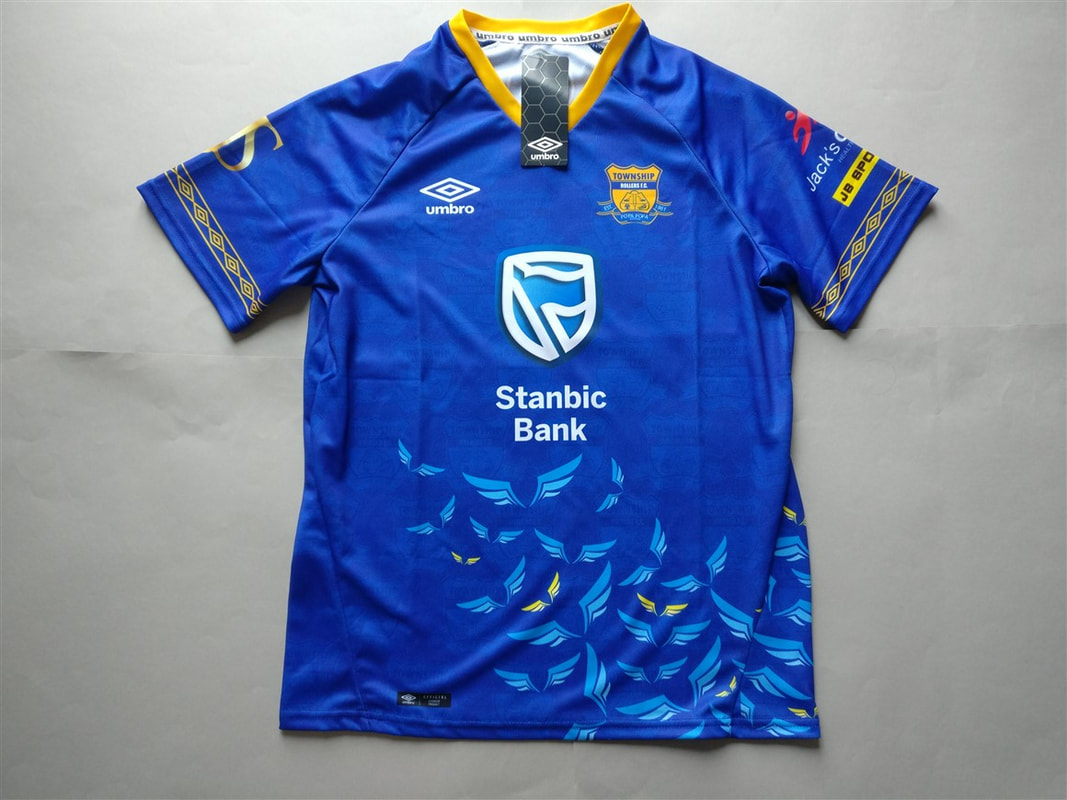 Township Rollers F.C. Home 2018/2019 Shirt. BNWT. Medium. Club Football Shirts.