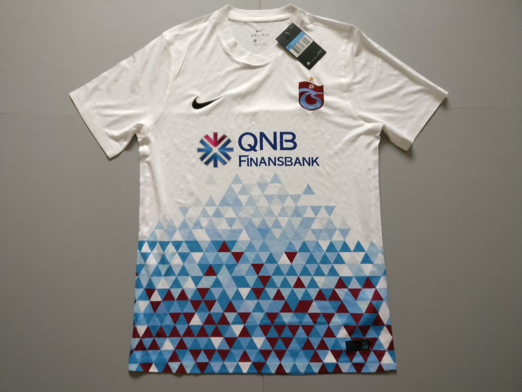 Trabzonspor Away 2017/2018 Football Shirt Manufactured By Nike. The Club Plays Football In Turkey.