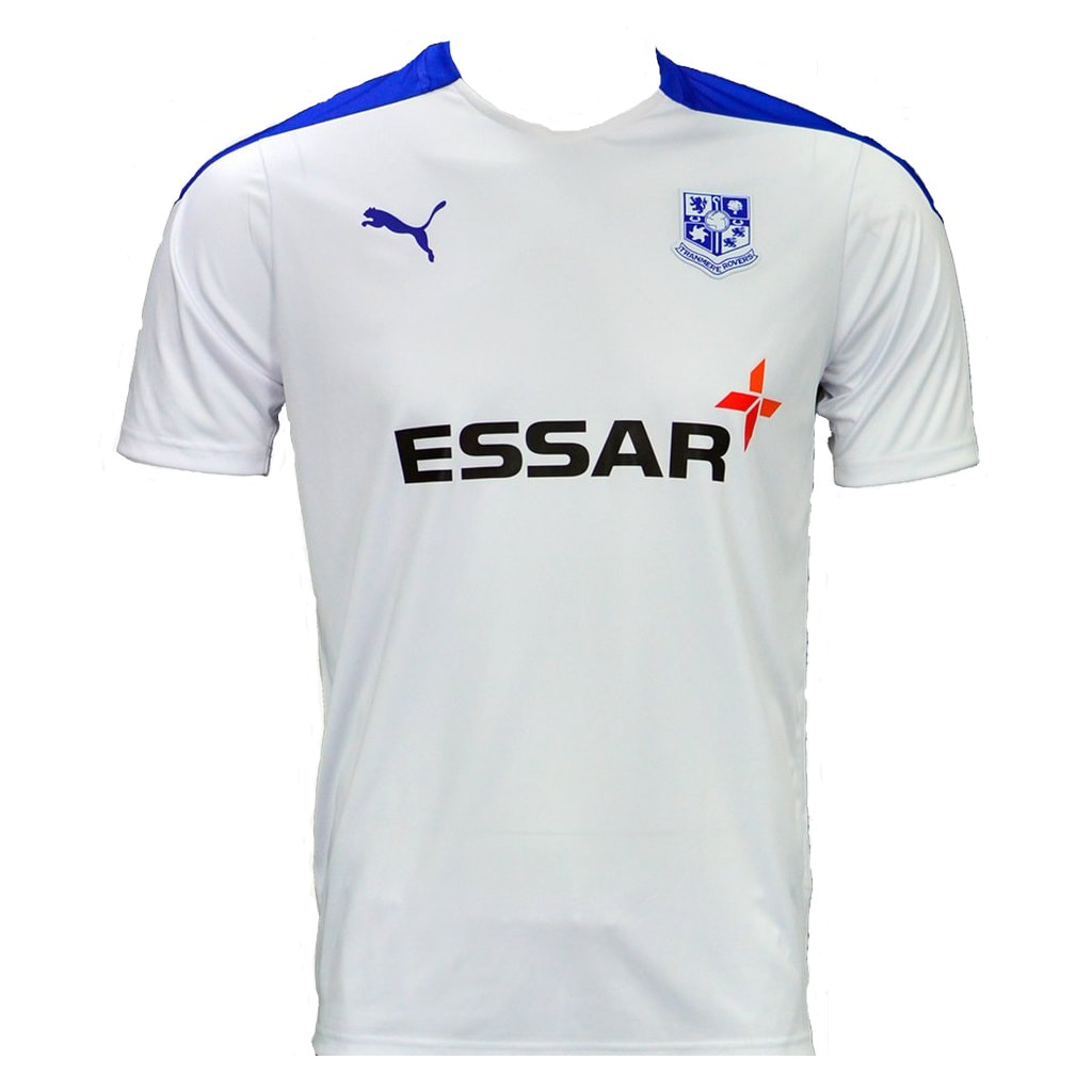 Tranmere Rovers Home 2020/2021 Football Shirt Manufactured By Puma. The Club Plays Football In England.