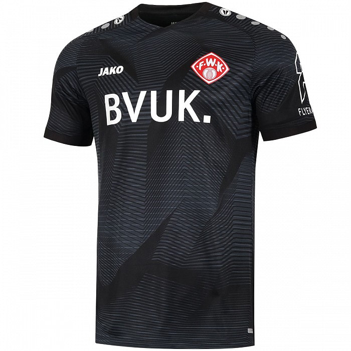Würzburger Kickers Away 2020/2021 Football Shirt Manufactured By Jako. The Club Plays Football In Germany.