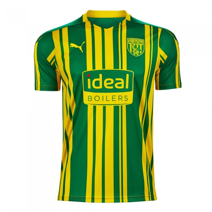 West Bromwich Albion Away 2020/2021 Football Shirt Manufactured By Puma. The Club Plays Football In The Championship.